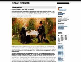 explainextended.com screenshot