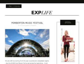 explife.express.com screenshot