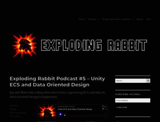 explodingrabbit.com screenshot