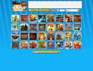 explogames.com screenshot