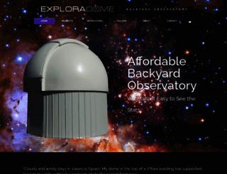 explora-dome.com screenshot