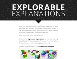 explorableexplanations.com screenshot
