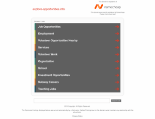 explore-opportunities.info screenshot