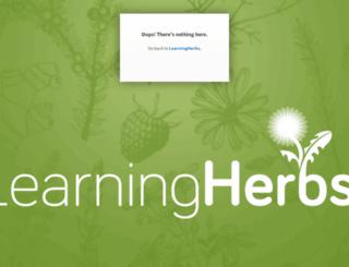 explore.learningherbs.com screenshot