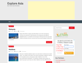 exploreasia.in screenshot