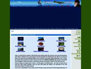explorecrete.com screenshot