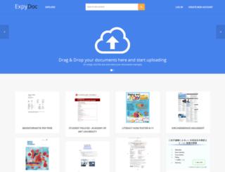 exploredoc.com screenshot