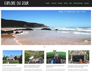 exploredujour.com screenshot