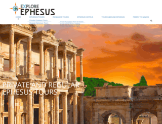 exploreephesus.com screenshot