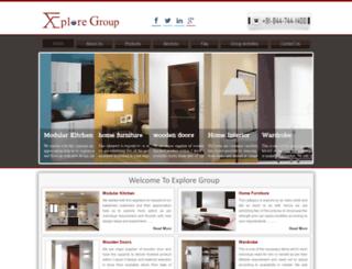 exploregroup.in screenshot