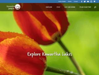 explorekawarthalakes.com screenshot
