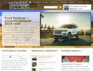 explorerclubpolska.com screenshot