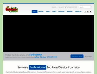 explorerjamaica.com screenshot
