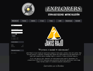 explorers.com.pl screenshot