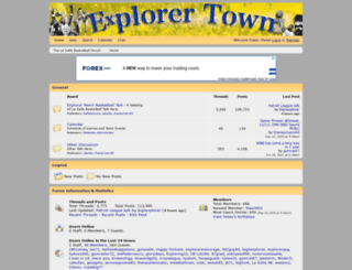 explorertown.proboards.com screenshot