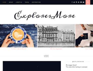 exploresmore.com screenshot