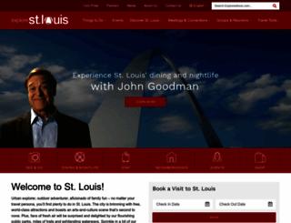 explorestlouis.com screenshot