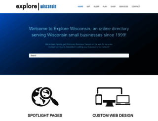 explorewisconsin.com screenshot