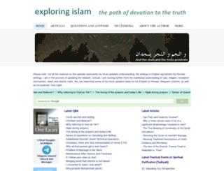 exploring-islam.com screenshot