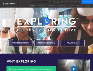 exploring.learningforlife.org screenshot