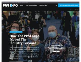 expo.ppai.org screenshot