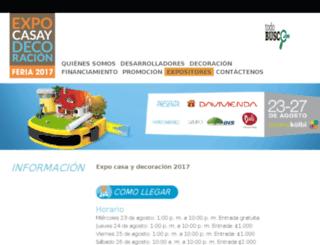 expocasa.co.cr screenshot