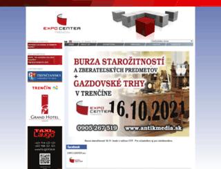 expocenter.sk screenshot