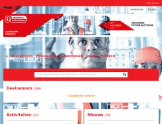 expomatch.industrialprocessing.nl screenshot