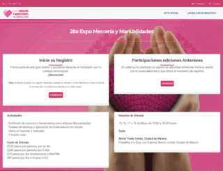 expomerceria.xporegistro.com screenshot