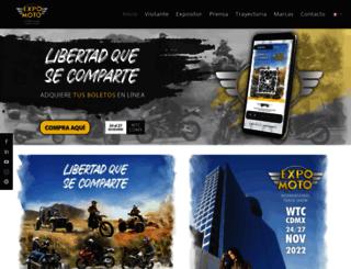 expomoto.com.mx screenshot