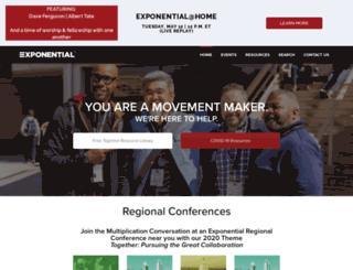 exponential02.wpengine.com screenshot