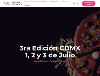 exporeposteria.mx screenshot