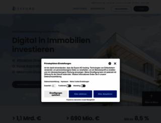 exporo.de screenshot