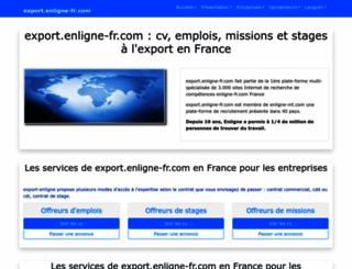 export.enligne-fr.com screenshot
