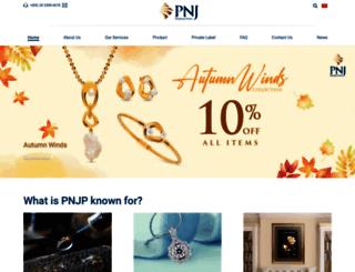 export.pnj.com.vn screenshot