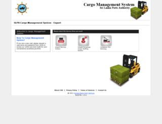 export.slpa.lk screenshot