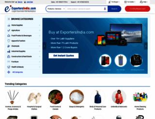 exportersindia.com screenshot