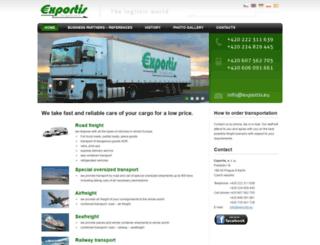 exportis.eu screenshot