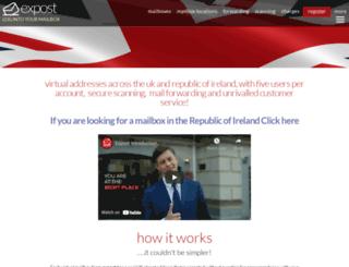 expost.uk screenshot