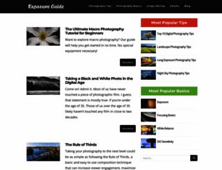 exposureguide.com screenshot