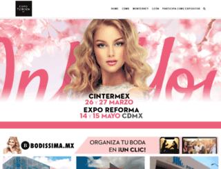 expotuboda.com.mx screenshot