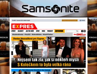 expres.cz screenshot