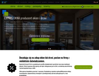 expresokna.pl screenshot