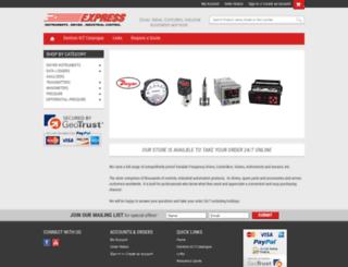 express-instruments.com screenshot