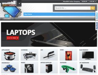 express.wantitall.co.za screenshot