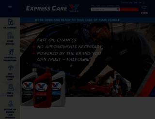 expresscare.com screenshot