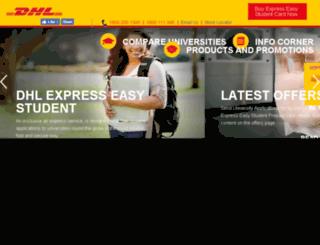 expresseasystudent.in screenshot