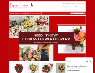 expressflower.ph screenshot