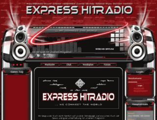 expresshitradio.com screenshot