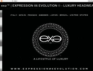 expression06evolution.com screenshot